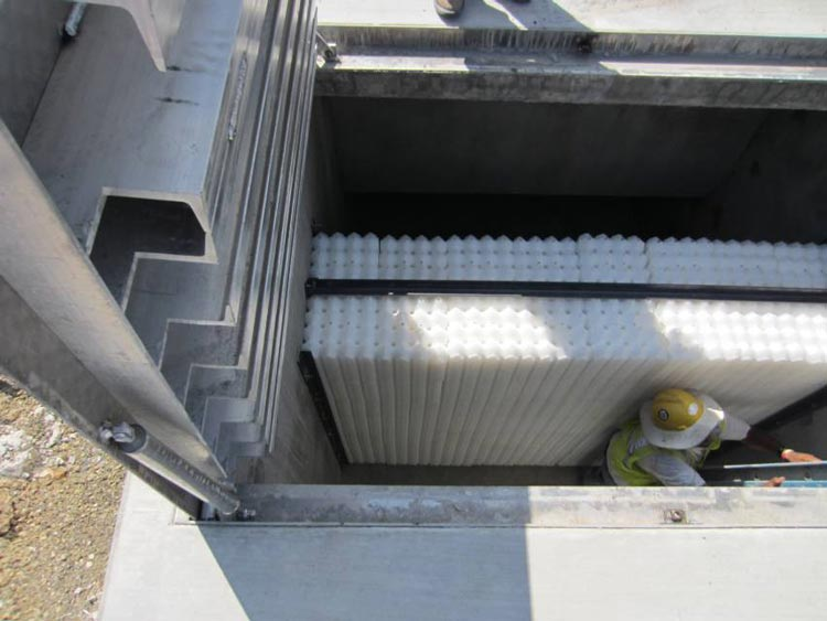 Stormwater Processing Cconcrete Vaults