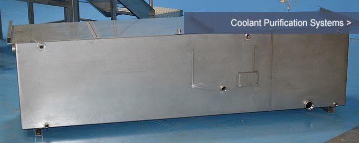 Coolant Purification - Coolant Recovery Tramp Oil Separator