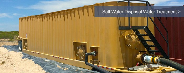 Salt Water Disposal Water Treatment