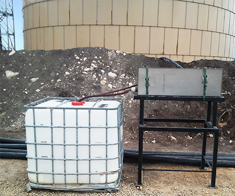 MSR11S Test Oil Water Separator Rental Saltwater Produced Water Disposal Well