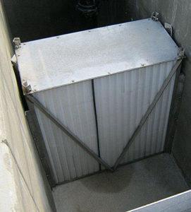 Below ground oil water separator - Military Installation